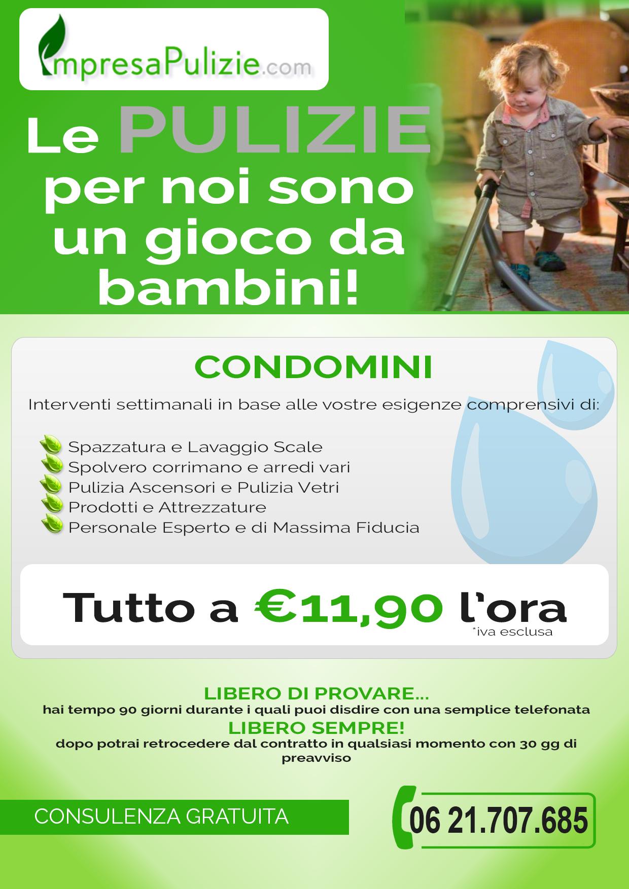 Richiesta Preventivo - Condomini - ImpresaPulizie.com