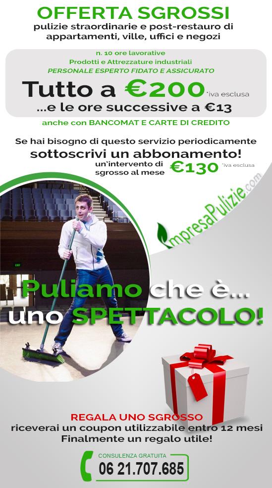 Servizio di pulizie straordinarie - Impresapulizie.com